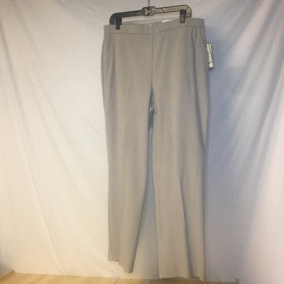 Dana Buchman Pants - NWT Dana Buchman Heather Rock Slacks